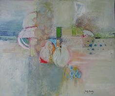 At the Beach...oil by judy thorley