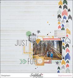 """Just 4 Fun"" – NovemberKit der SBW | scrapinfeacted.de | Bloglovin'"