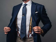 How to wear suspenders - Business Insider