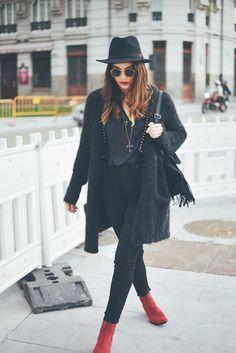 Boho in black