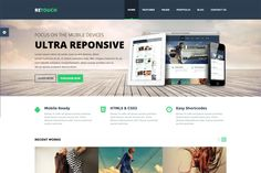 Check out ReTouch - Multi-Purpose WP Theme by mr_biswas on Creative Market