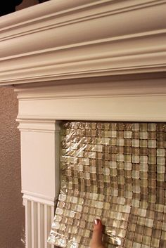 tasty glass tile! little more neutral    Fireplace Tile Options by AddisonShaw, via Flickr