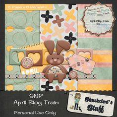 SNP - April Blog Train Freebie