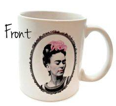 Frida Kahlo Quote - Feet, What Do I Need You For When I Have Wings to FLY - 11 ounce Coffee Mug - Superb GIFT