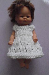 Ravelry: Baby Doll Dress Set 2 pattern by taffylass knits Knitting Dolls Clothes, Baby Doll Clothes, Crochet Doll Clothes, Knitted Dolls, Knitted Hats, Knitting Patterns Free, Baby Knitting, Knitting Ideas, Free Knitting