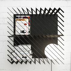 Hash | a modular bookshelf by Max Voytenko of Line Studio