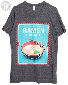 Men's Ramen Noodle Screenprinted T-Shirt (*Amazon Partner-Link)