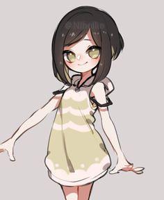 Kawaii Art, Anime Kawaii, Anime Chibi, Anime Girl Drawings, Anime Art Girl, Cute Drawings, Cute Art Styles, Cartoon Art Styles, Cute Anime Character