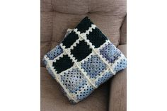 Crochet Blanket by Harvey's Home