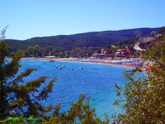 "Beach ""CHRISOGIALI"", in Parga. -"