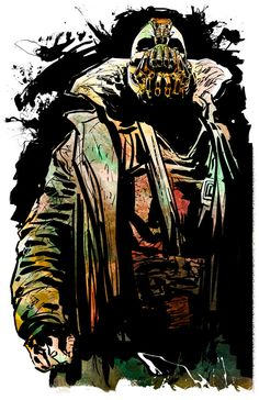 Bane Print by KineticPress on Etsy, $20.00
