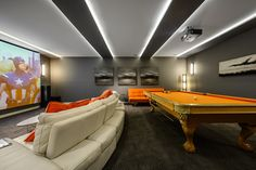 Dwell on Despard - contemporary - media room - Vancouver - Joshua Lawrence Studios INC