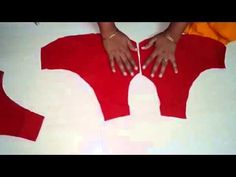 Learn the simplest way of marking and cutting simple blouse with . Full along with the measurements of the simple blouse and how to do marking, drafting and . Sewing Hacks, Sewing Tutorials, Sewing Projects, Sewing Patterns, Saree Blouse Patterns, Sari Blouse, Blouse Tutorial, Stitching Dresses, Sewing Blouses