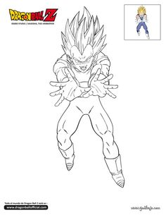 Desenhos de Pintar Dragon Ball z  dragon ball z  Pinterest