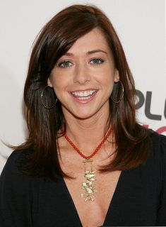 Alyson Hannigan funny, smart, sweet, stared in two of my favorite shows, and the person who all of my hair decision have been inspired by