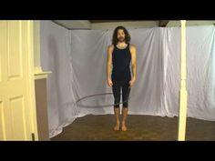 Beginner Hula Hoop Tricks Vol. 2: Leg / Knee Hooping Tutorial