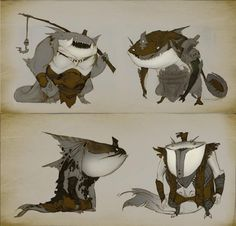 Early Tahm Kench concept