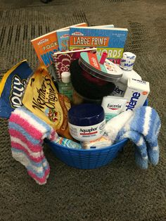 Gift Basket For Someone Doing Chemotherapy