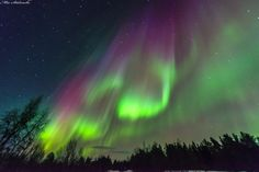 Astrophotographer Mia Stålnacke sent in a photo of an auroral display over of Kiruna, Sweden, taken on March 17, 2015. Credit: Mia Stålnacke
