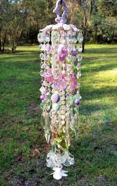 Spring Hummingbirds and Flowers WInd Chime White Lotus Tattoo, Crystal Wind Chimes, Crystal Design, Glass Flowers, Green Rose, Nature Crafts, Spring Green, Hummingbirds, Hand Blown Glass