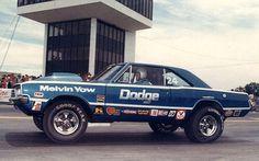 Vintage Drag Racing - Pro Stock - Melvin Yow