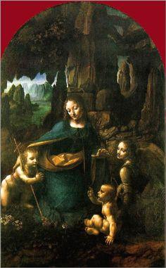 Leonardo Da Vinci  ~~                       Virgin of the Rocks