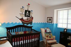 Pirate Baby S Room Nursery Themes Rooms Bedroom Boy