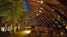Arquitetura Sustentavel: Vietnamitas usam bambu para construir restaurante ...