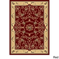 Woven Accents Empire 702 Area Rug (9'10 x 13'2) (Souvanerie