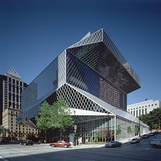 Biblioteca Central Publica en Seattle (USA) de Rem Koolhaas