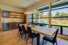 Dining | 2015 Street of Dreams | 'Sandhill Crane' Built by Westlake Development - Luxury Custom Home Builders Portland, OR