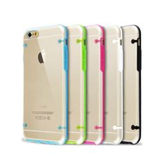 Apple iPhone 6/6S Classic Back Clear Case NEW! Colors: Red, White, Blue, Black and Green. Classic and Beautiful design Case for iPhone 6/6S. Super easy to install and the fit is tight and secure. This case is made from hight quality product. Let me know what color do you need. Thank you. Accessories Phone Cases