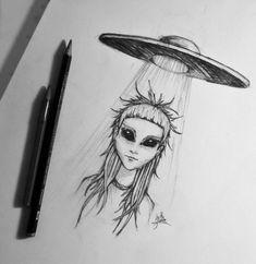 Alien Yolandi (Die Antwoord) by EvaFaithHorror