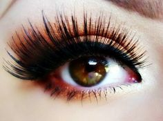 in love with these eyelashes