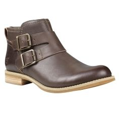 15927ba902293a Women's Savin Hill Double-Buckle Leather Ankle Boots - Timberland Tall  Leather Boots, Tall