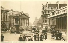 Mansion House / Bank of England London