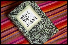 Wreck this journal: page 51 by ::sämyii::, via Flickr