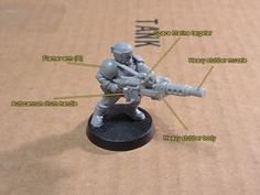 Ig Man-portable Sentry Guns Conversion - Page 2 - Boot Camp Warhammer Imperial Guard, 40k Imperial Guard, Imperial Army, Imperial Guardsman, Guardia Imperial 40k, Modeling Tips, Wargaming Terrain, Warhammer 40000, Space Marine