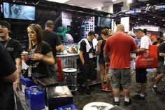 Guests gather at SEMA 2012