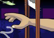 Yetenek Oyunlarını oynamayı sever misiniz? Elsiz Milyoner 2 oyununda hızla hareket eden bıçakların arasından elinizi uzatarak aşağı doğru düşen paraları toplamalısınız. http://www.3doyuncu.com/elsiz-milyoner-2/