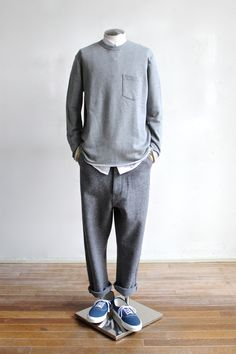 Fashion Ladies Suggestion of The Mens 2014 AutumnWinter Fashion Ladies Suggestion of The Mens 2014 AutumnWinter STYLE Fashion Moda, Love Fashion, Winter Fashion, Korean Fashion Men, Mens Fashion, Streetwear, Mode Man, Mens Slacks, Herren Style