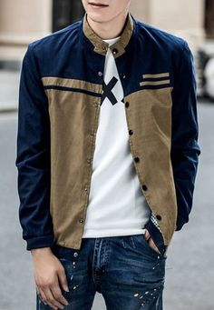 Neutral Nova Man — $26.66 Jacket in brown and blue. Get it »here« !