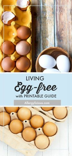 "Baking without eggs doesn't have to be difficult. Grab our ""How-to"" guide for living egg-free and see how easy it is to create amazing recipes. Savory Bread Recipe, Vegan Bread, Allergy Free Recipes, Keto Recipes, Cake Recipes, Baking Without Eggs, Gluten Free Shopping List, Cheesecake, Egg Allergy"