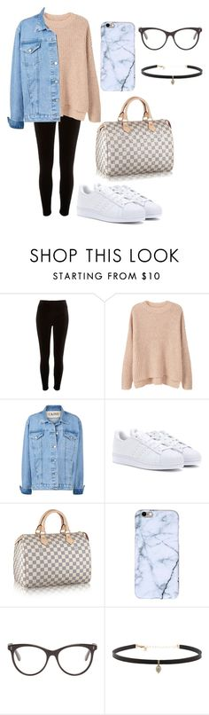 """shopping outfit"" by fashionblogger2122 on Polyvore featuring River Island, MANGO, adidas, STELLA McCARTNEY and Carbon & Hyde"