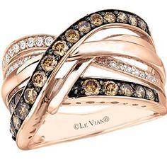 Le Vian Chocolatier® Raspberry Rhodolite® ring in 14K Strawberry ...