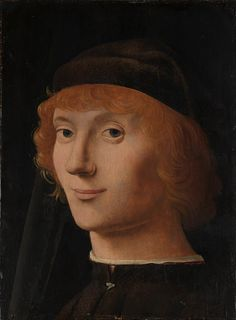 Antonello da Messina (Antonello di Giovanni d'Antonio): Portrait of a Young Man (14.40.645) | Heilbrunn Timeline of Art History | The Metropolitan Museum of Art