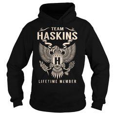 Team HASKINS Lifetime Member - Last Name, Surname T-Shirt