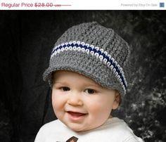 Sale Boys crochet newsboy hat crochet baby boy by ktandthesquid Disney With A Toddler, Baby Disney, Mens Newsboy Hat, Popular Hats, Fall Hats, Winter Hats, Baby Hats Knitting, Knitted Baby, Crochet Cap
