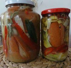 Jak si naložit Hermelín a špekáčky | recept Cast Iron Dutch Oven, Czech Recipes, Pickles, Cucumber, Salsa, Dips, Canning, Dutch Ovens, Food