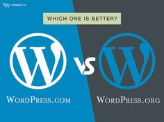 We are here to learn about the difference between WordPress Com verses Org. which one is best for you can easily decide after reading this post. Wordpress Org, Health Bar, Different, Things To Think About, Verses, Infographic, How To Make Money, Social Media, Education